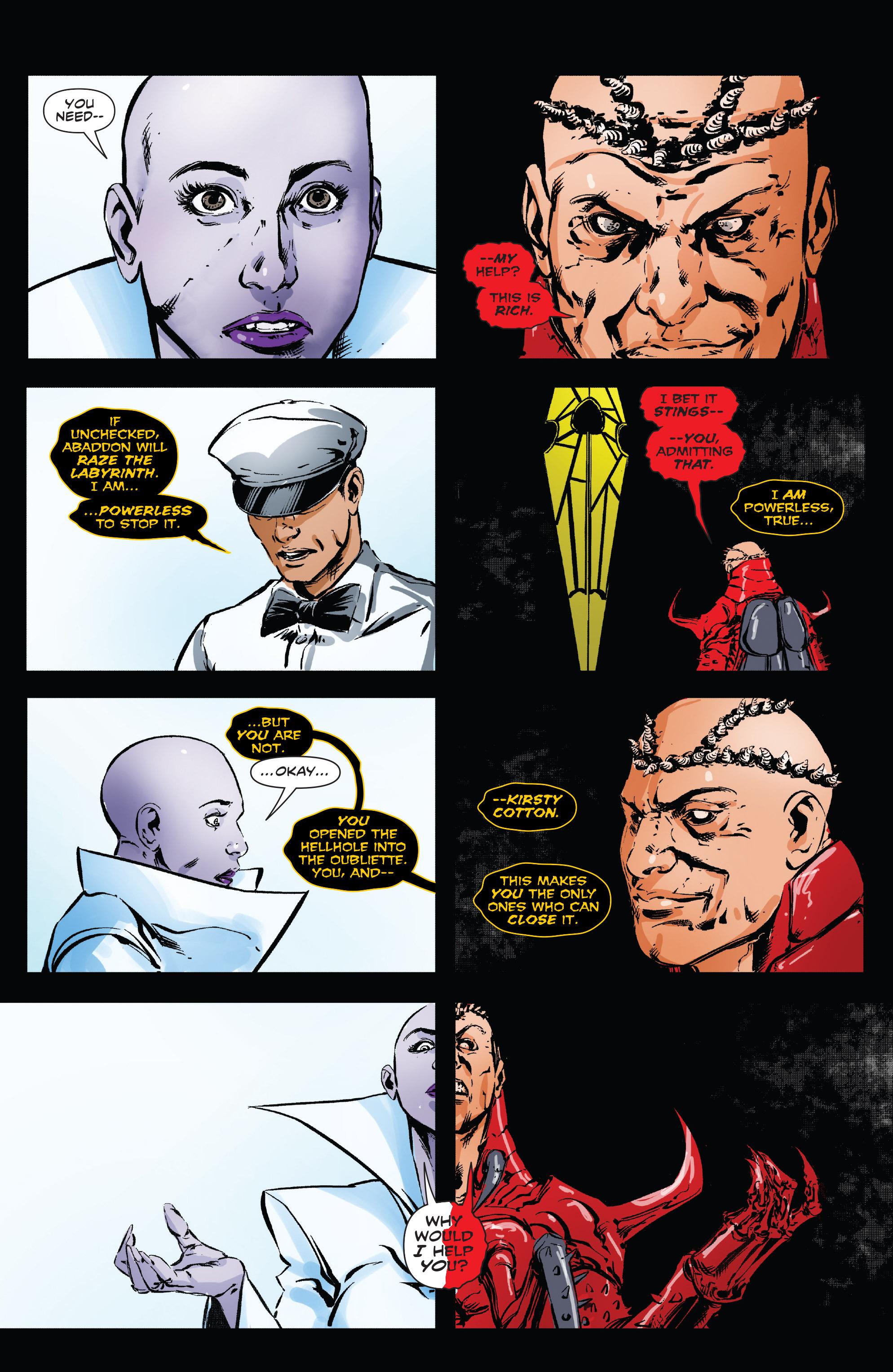 Read online Clive Barker's Hellraiser: The Dark Watch comic -  Issue # TPB 3 - 120