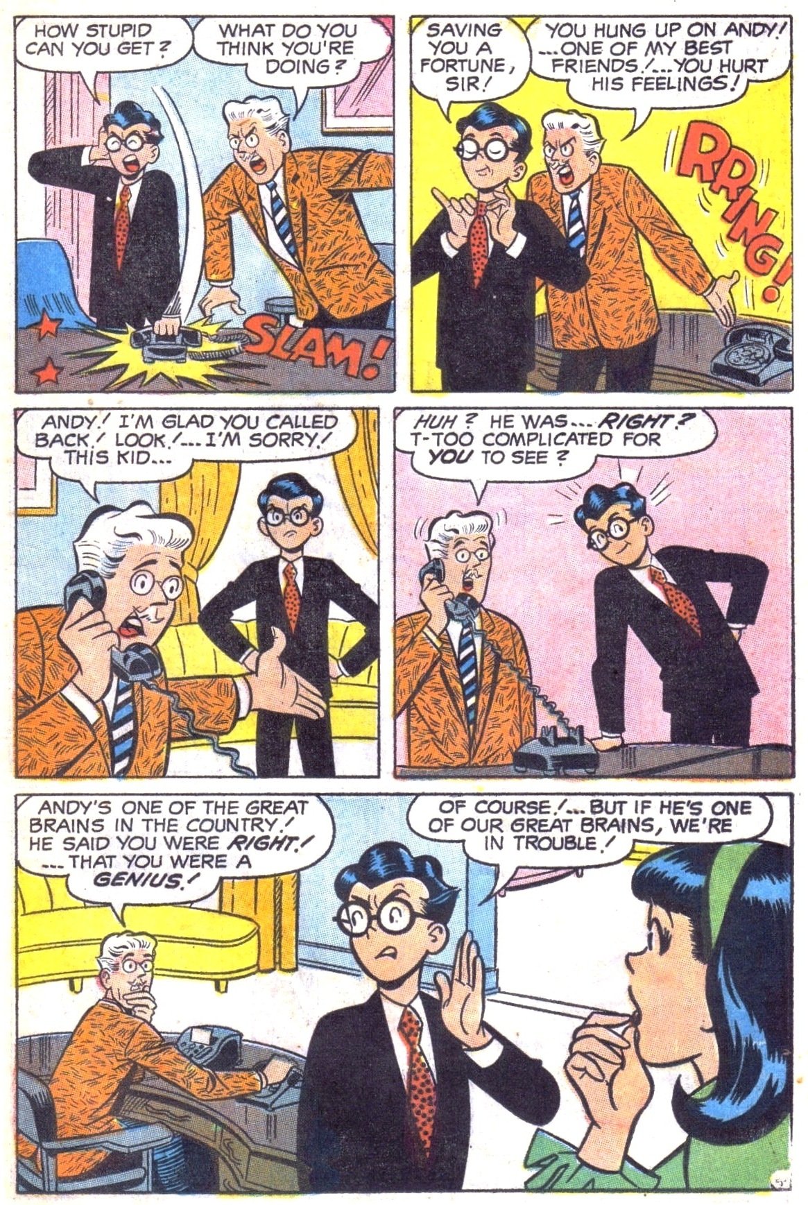 Read online Archie (1960) comic -  Issue #187 - 23