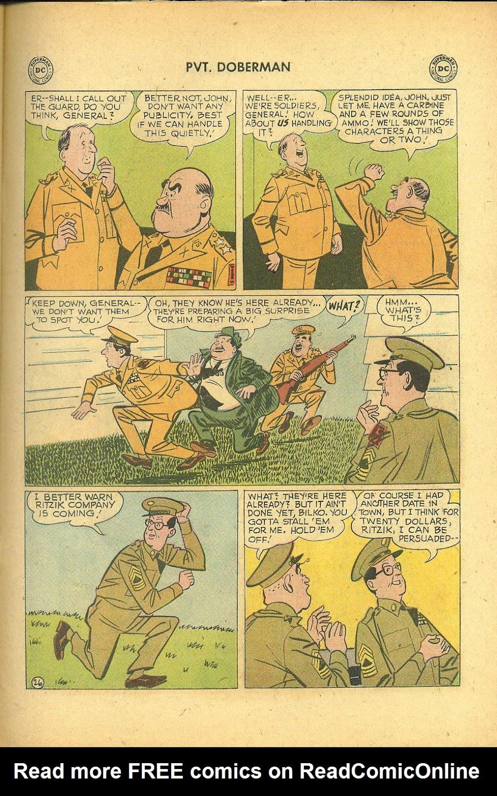Sgt. Bilko's Pvt. Doberman issue 1 - Page 31