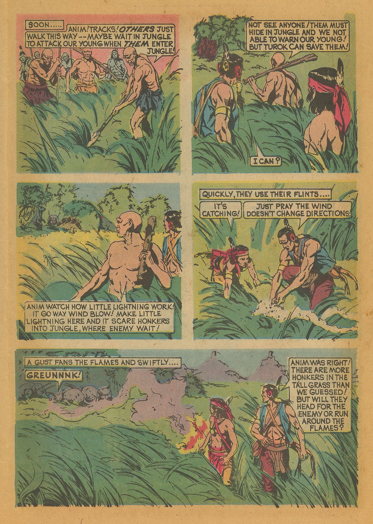 Read online Turok, Son of Stone comic -  Issue #112 - 15