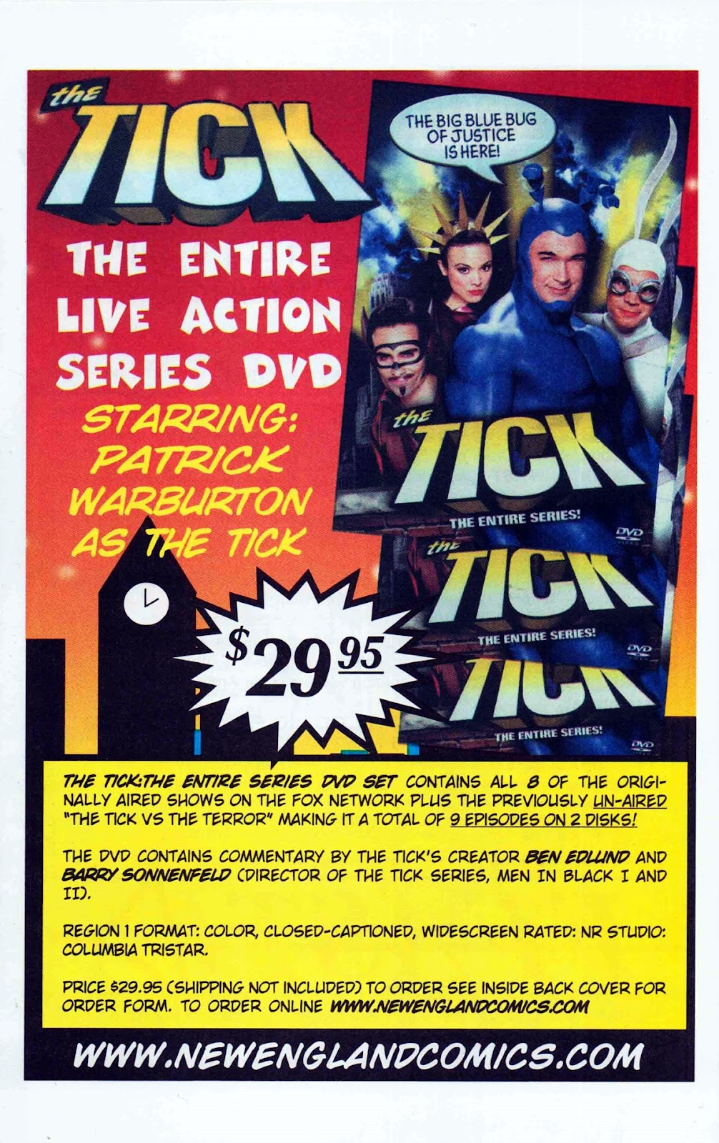 Read online The Tick: Days of Drama comic -  Issue #6 - 28