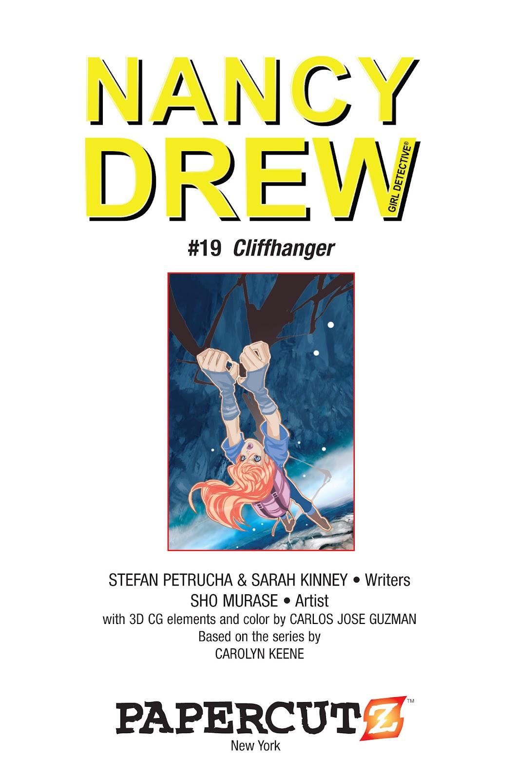 Read online Nancy Drew comic -  Issue #19 - 3