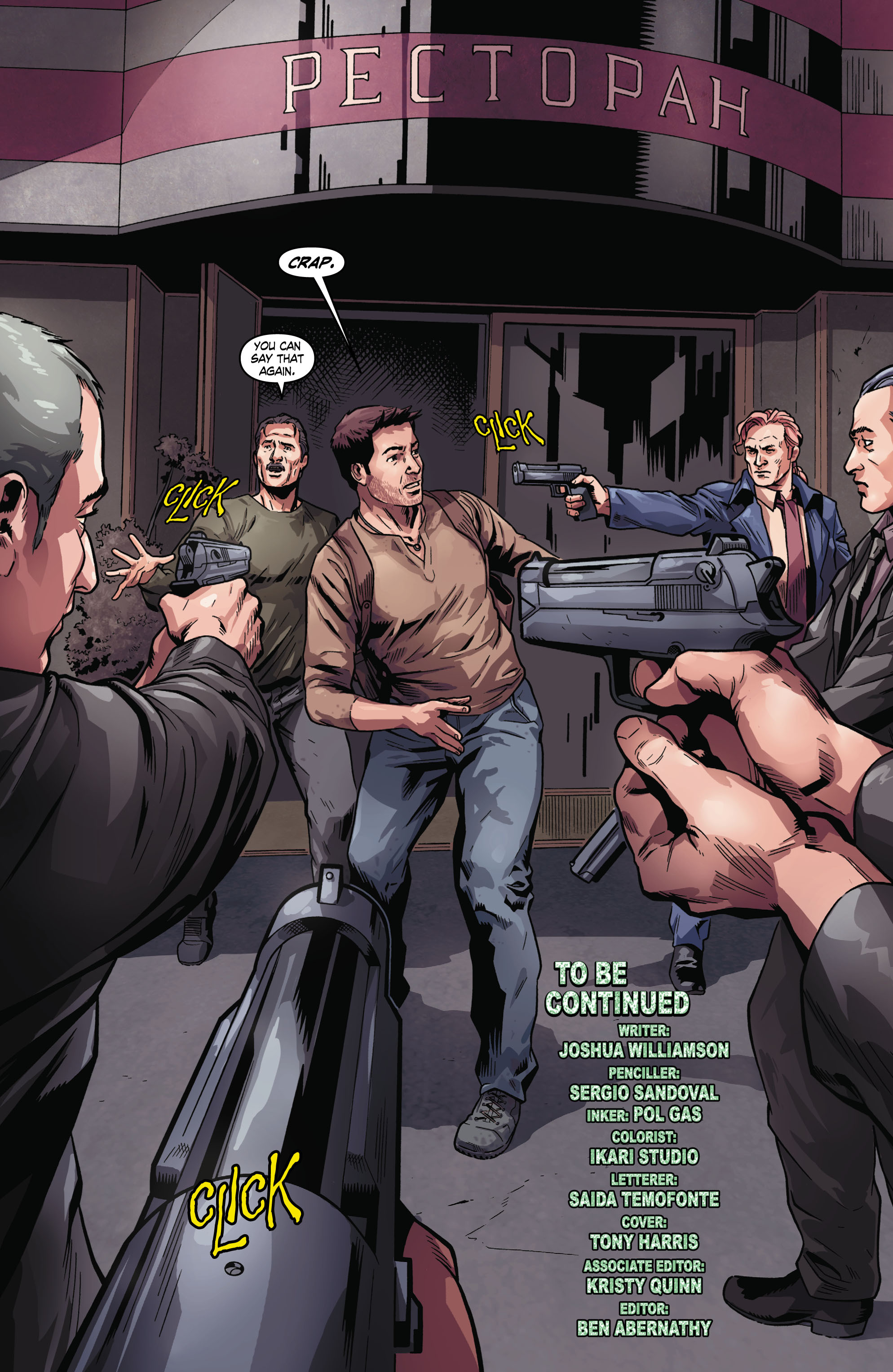 Read online Uncharted comic -  Issue #2 - 21