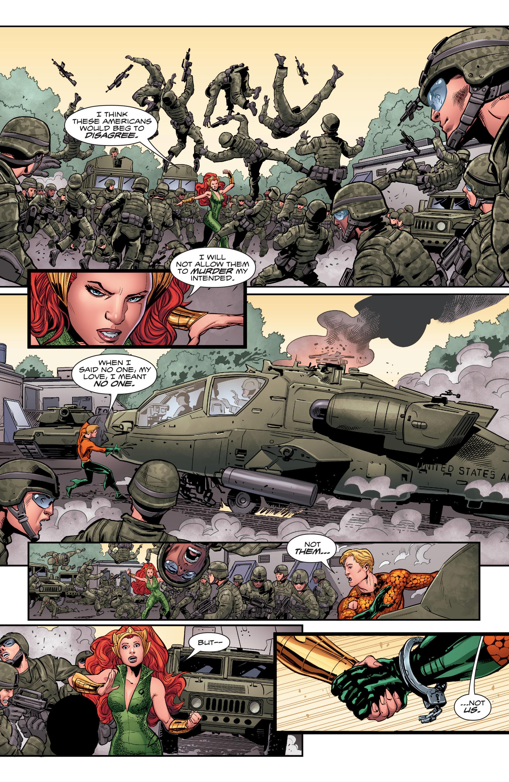 Read online Aquaman (2016) comic -  Issue #5 - 9