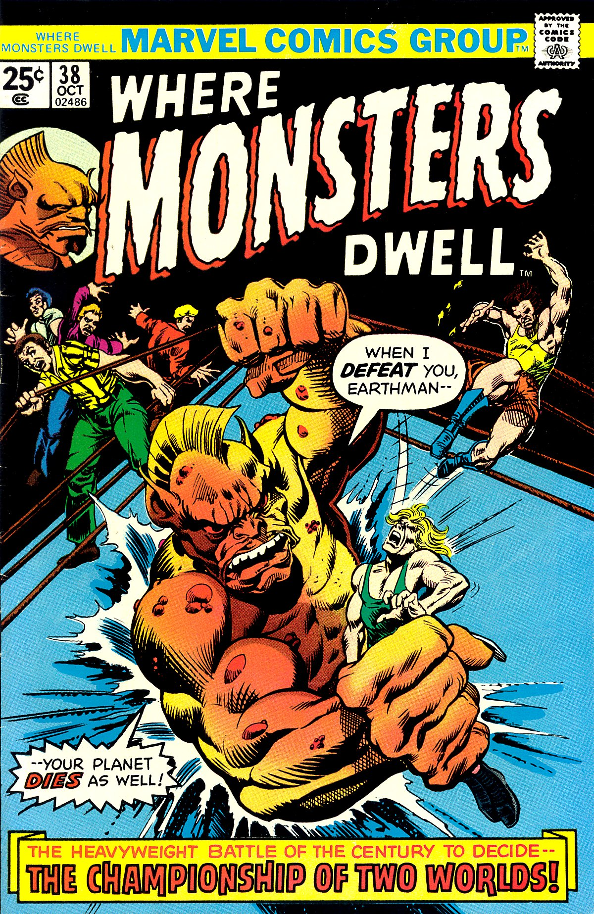 Where Monsters Dwell (1970) 38 Page 1