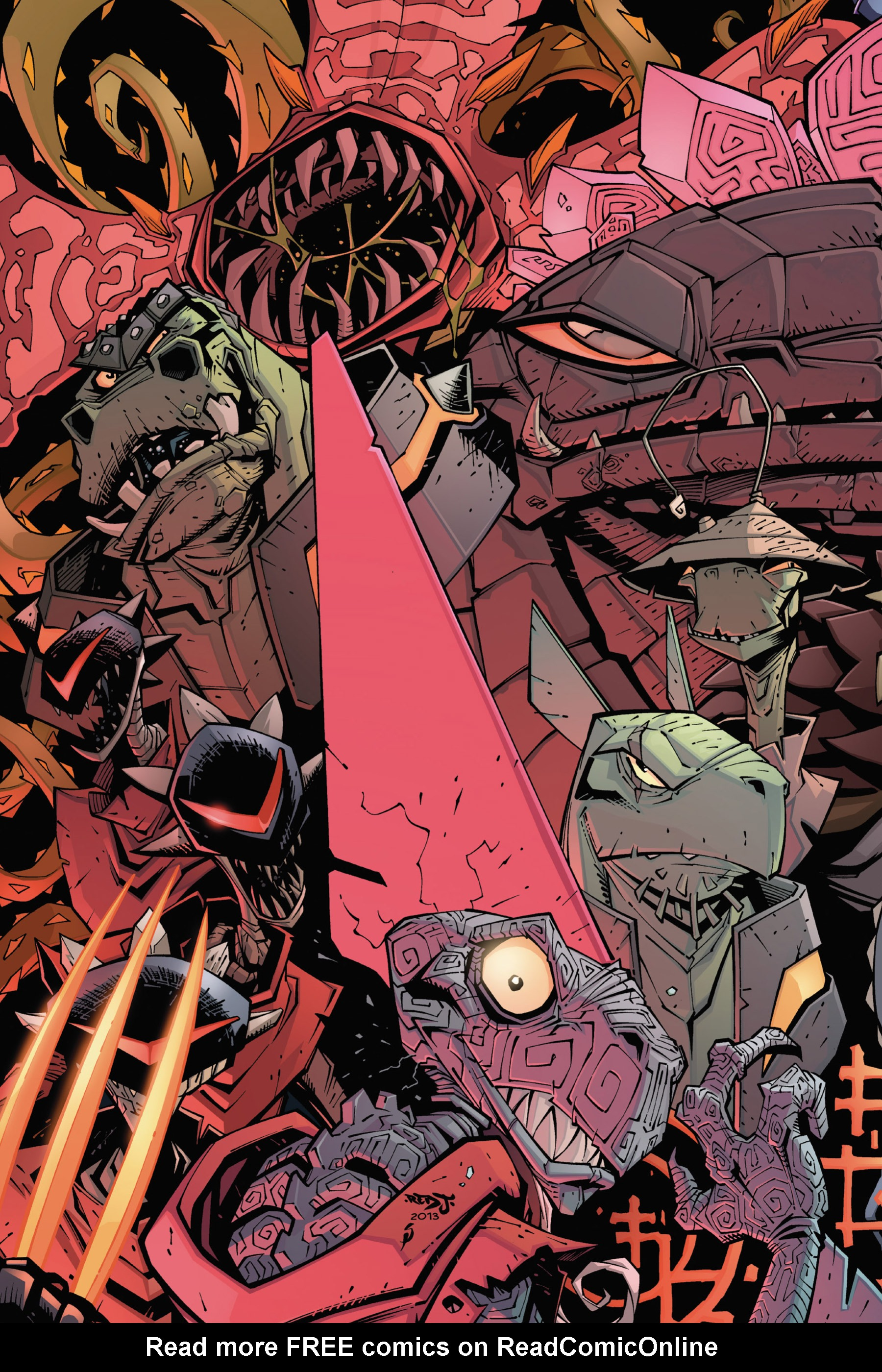 Read online Rexodus comic -  Issue # Full - 60