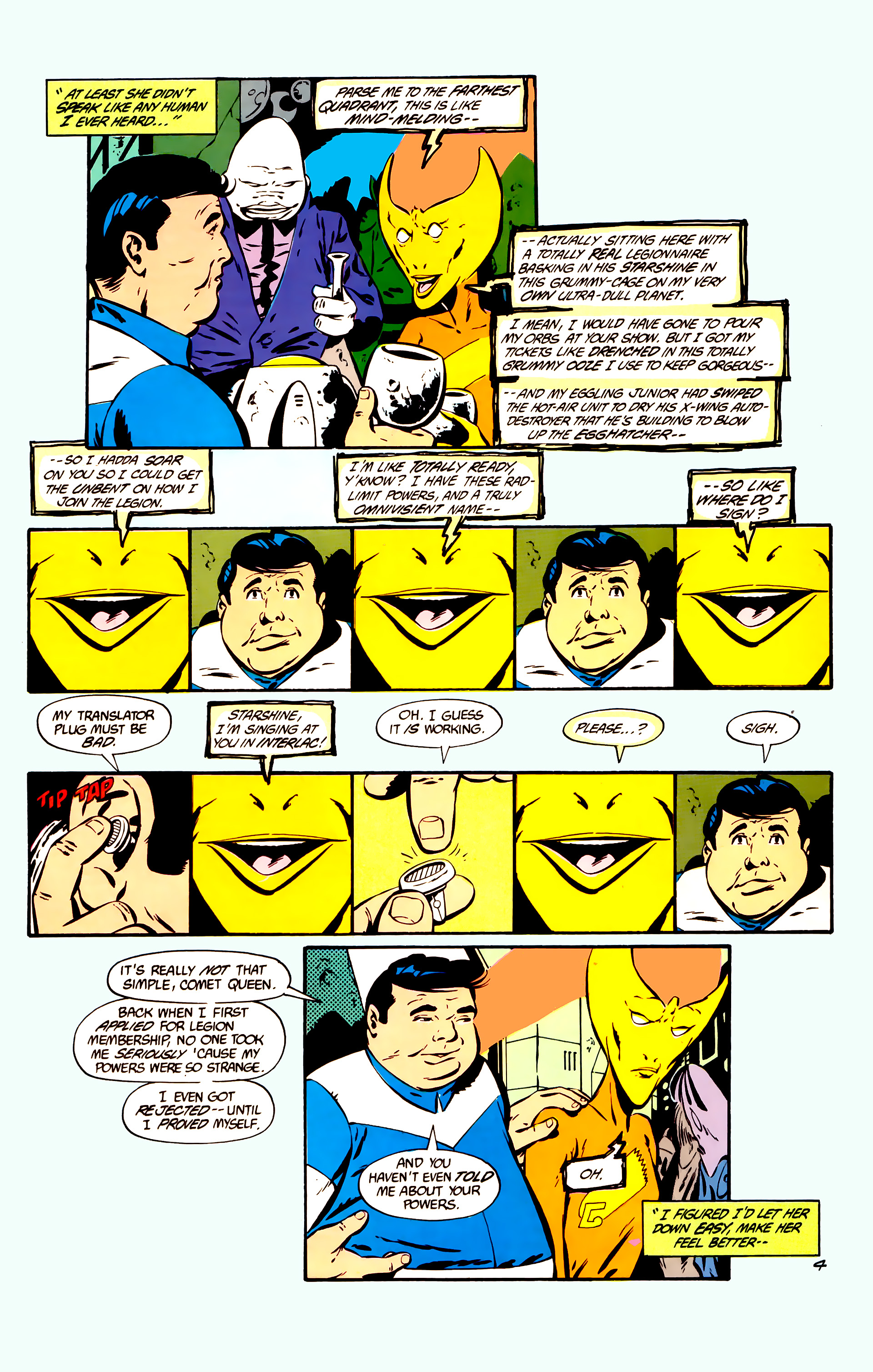 Legion of Super-Heroes (1984) 11 Page 17