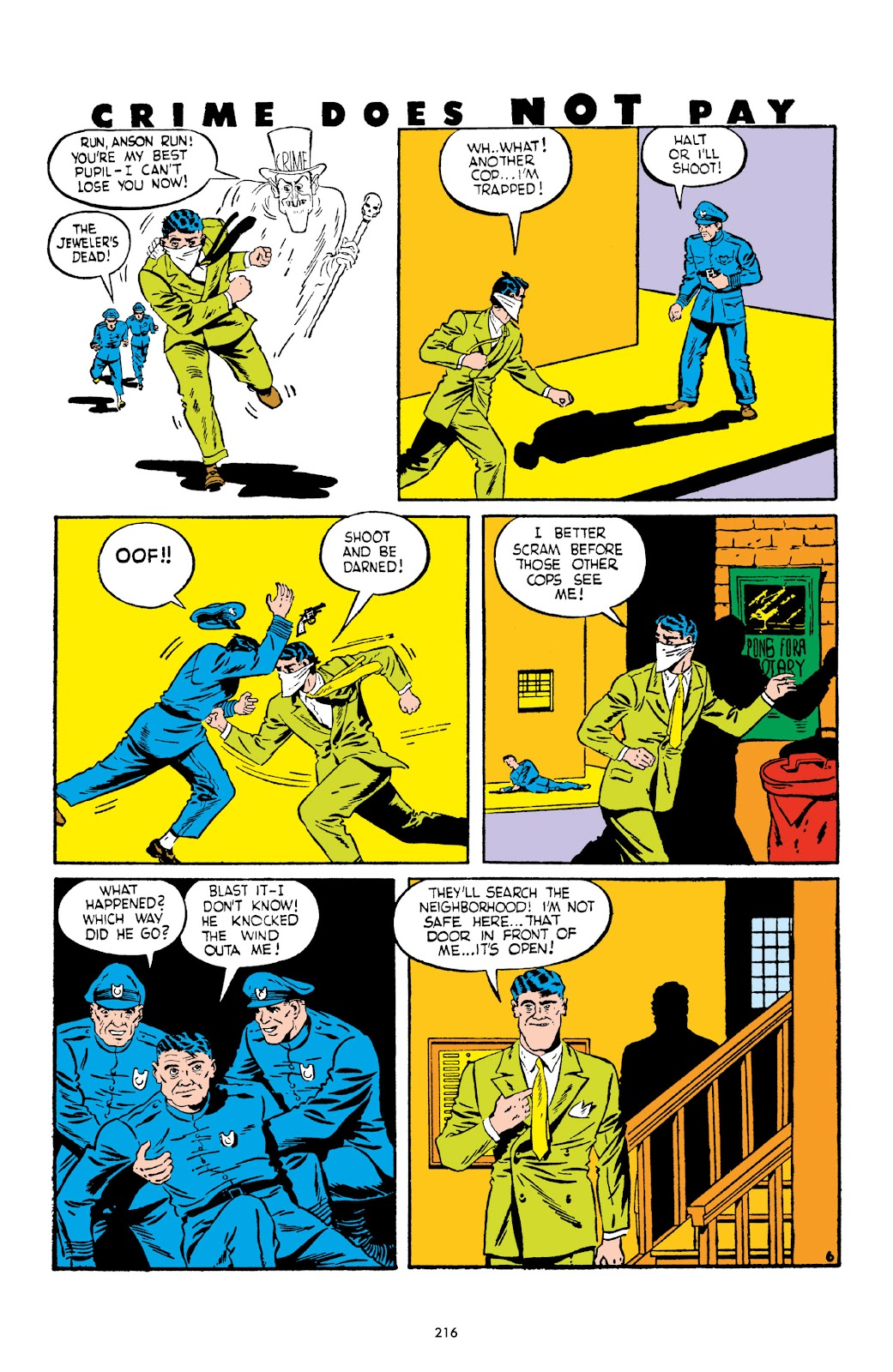Read online Crime Does Not Pay Archives comic -  Issue # TPB 2 (Part 3) - 16
