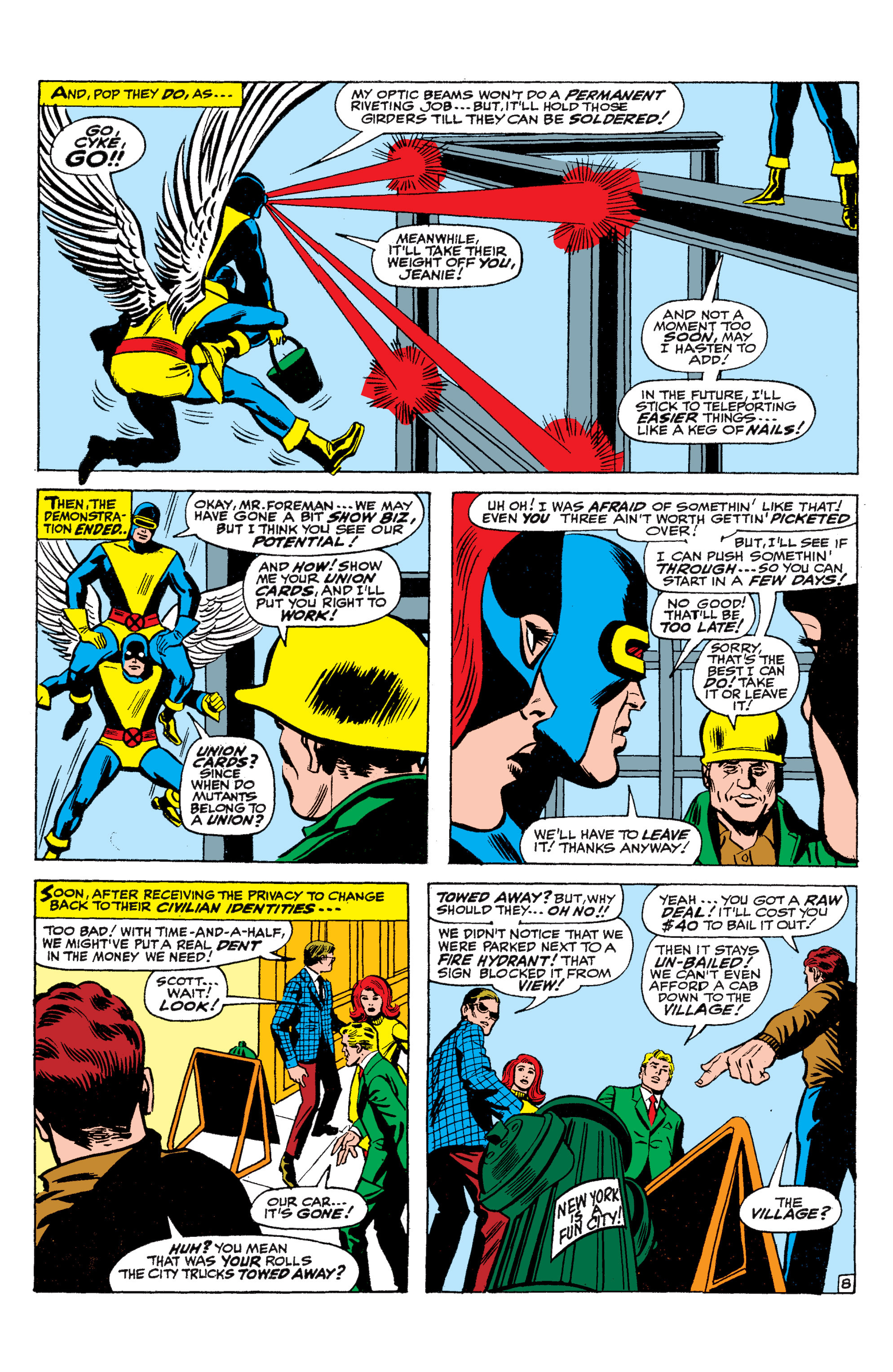 Read online Uncanny X-Men (1963) comic -  Issue #36 - 9