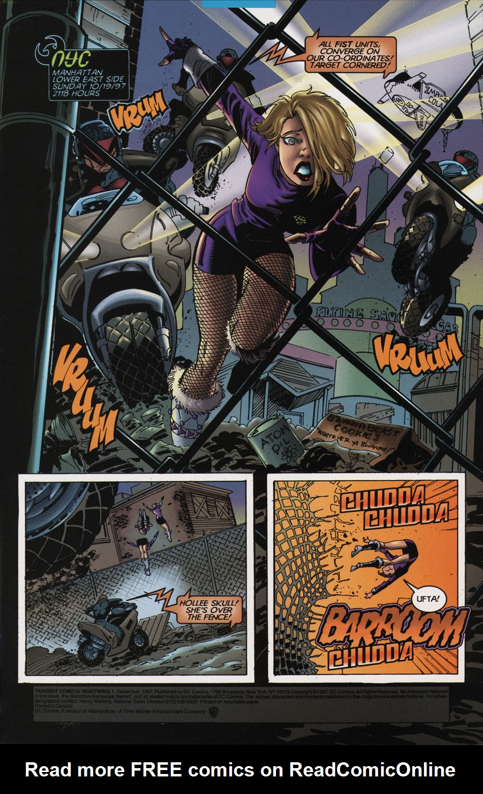 Read online Tangent Comics/ Nightwing comic -  Issue # Full - 2