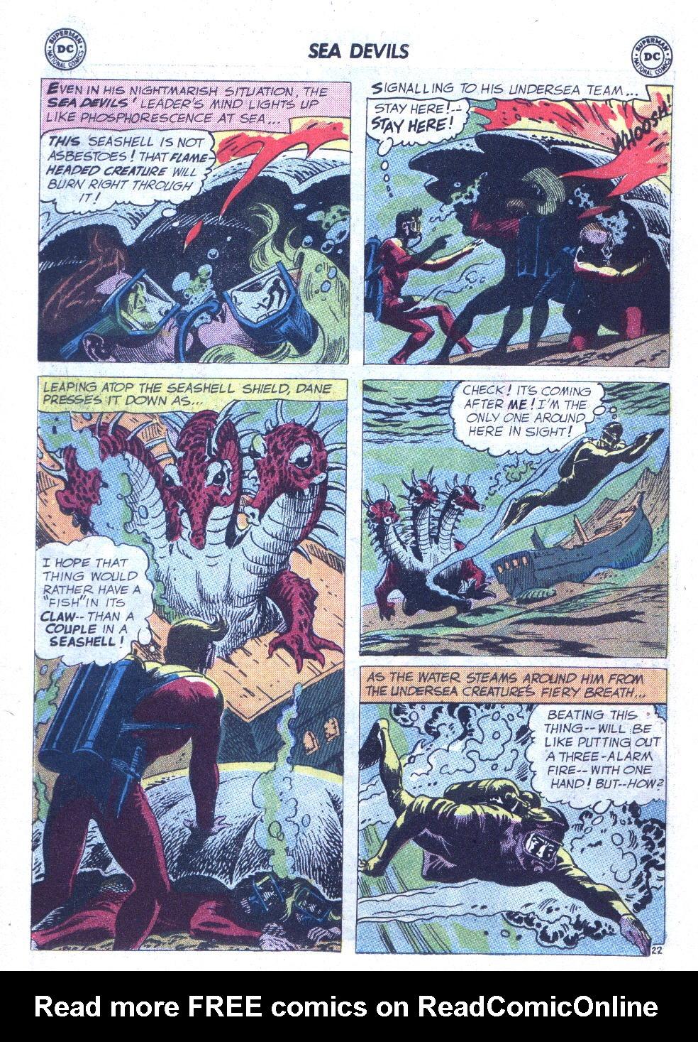 Read online Sea Devils comic -  Issue #6 - 31