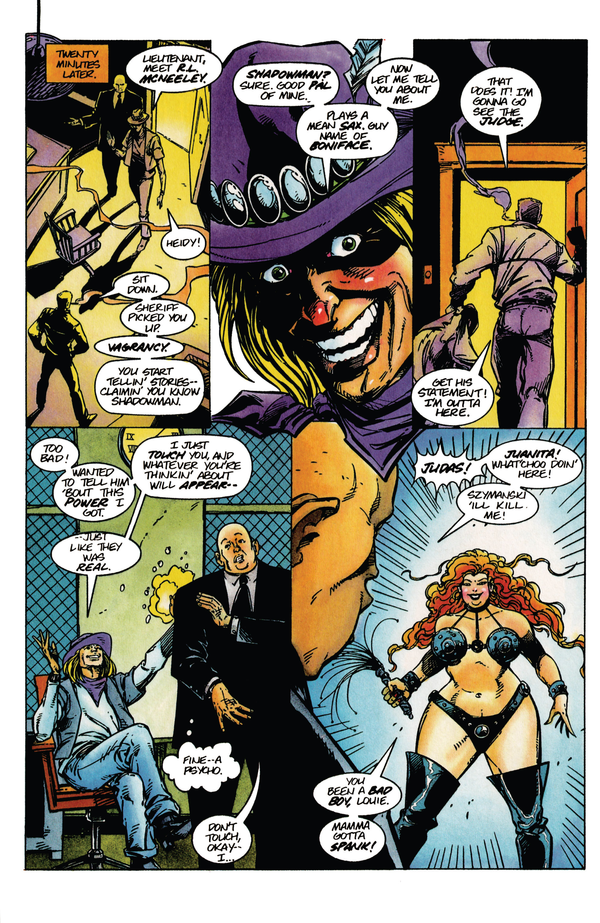 Read online Shadowman (1992) comic -  Issue #41 - 11