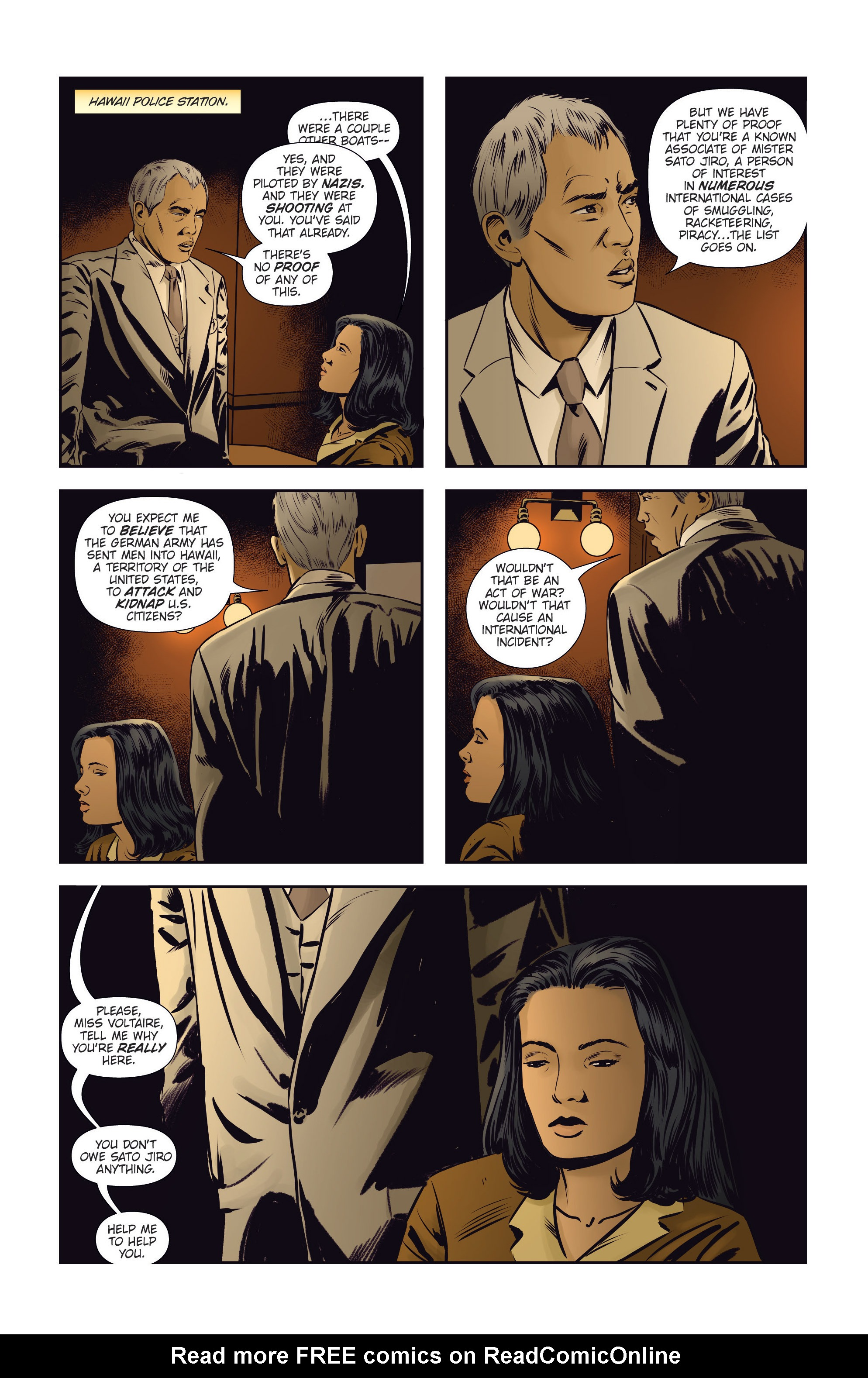 Read online Athena Voltaire and the Volcano Goddess comic -  Issue #3 - 7