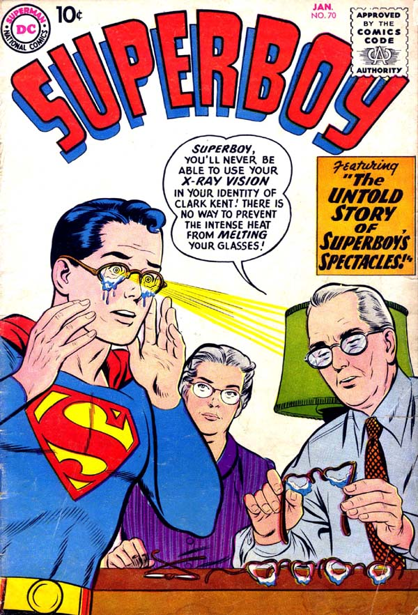 Superboy (1949) issue 70 - Page 1