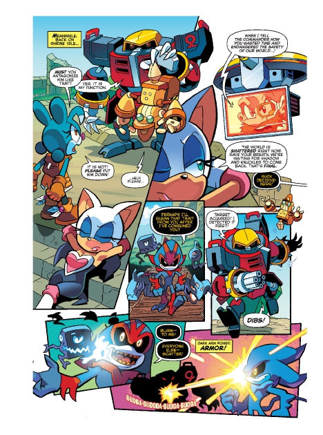Read online Sonic Comics Spectacular: Speed of Sound comic -  Issue # Full - 225