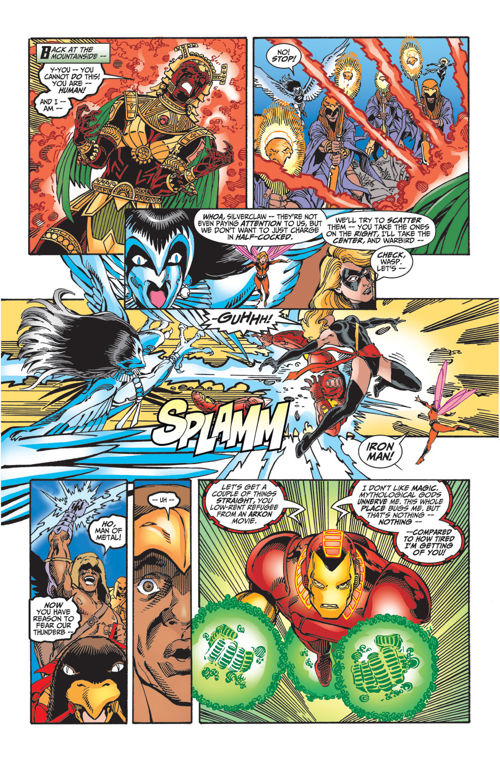 Read online Avengers (1998) comic -  Issue #29 - 5