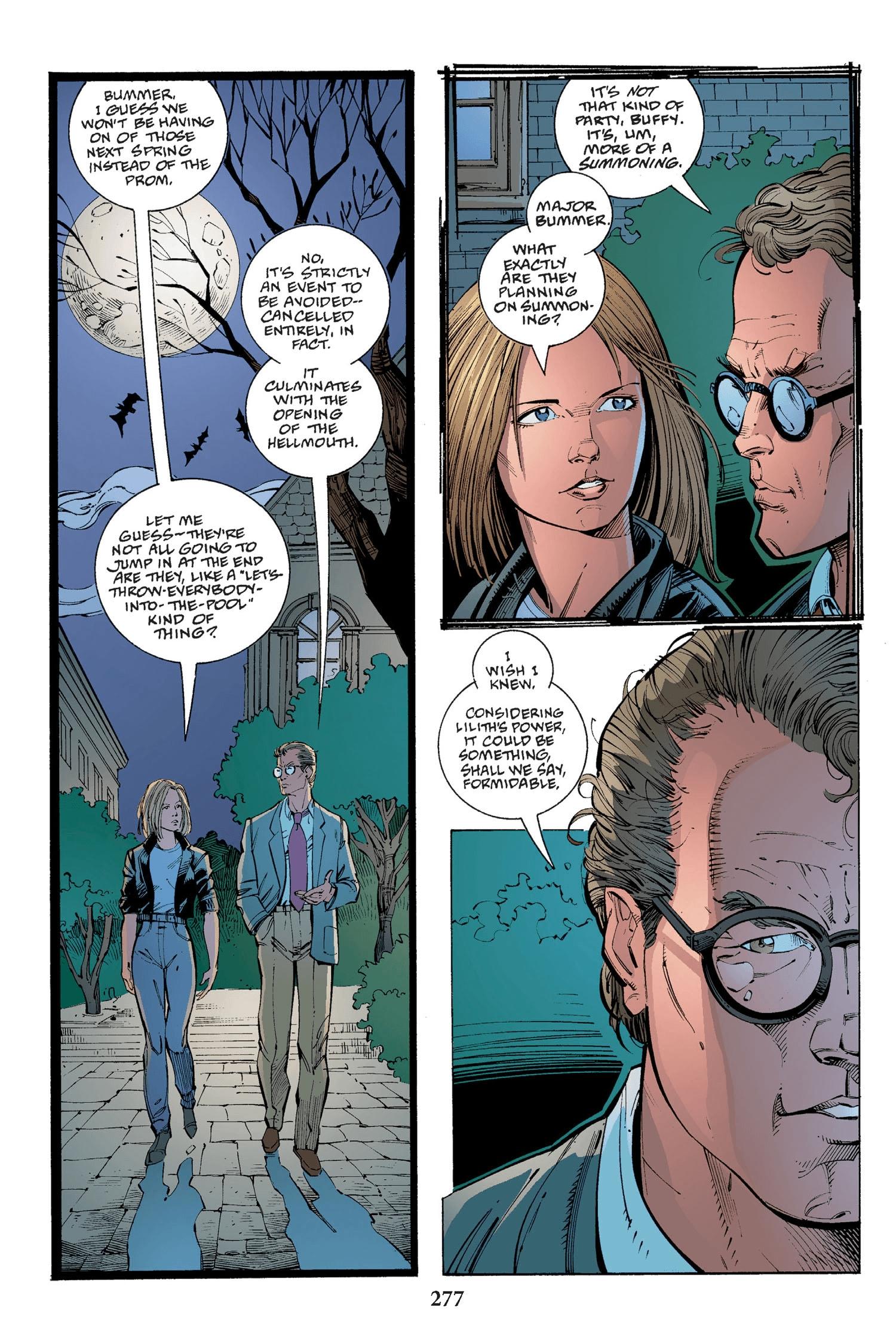 Read online Buffy the Vampire Slayer: Omnibus comic -  Issue # TPB 2 - 269