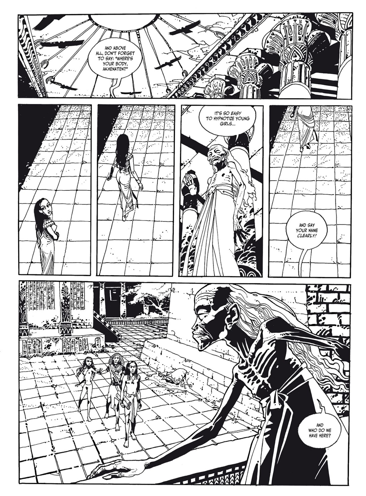Read online The Egyptian Princesses comic -  Issue # TPB 1 (Part 1) - 57