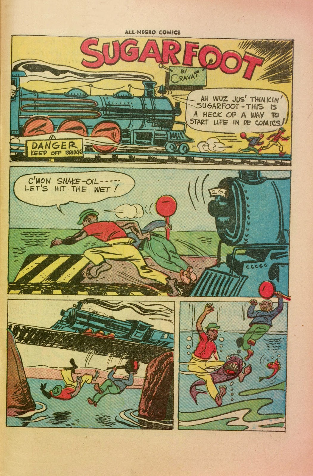 All-Negro Comics issue Full - Page 42