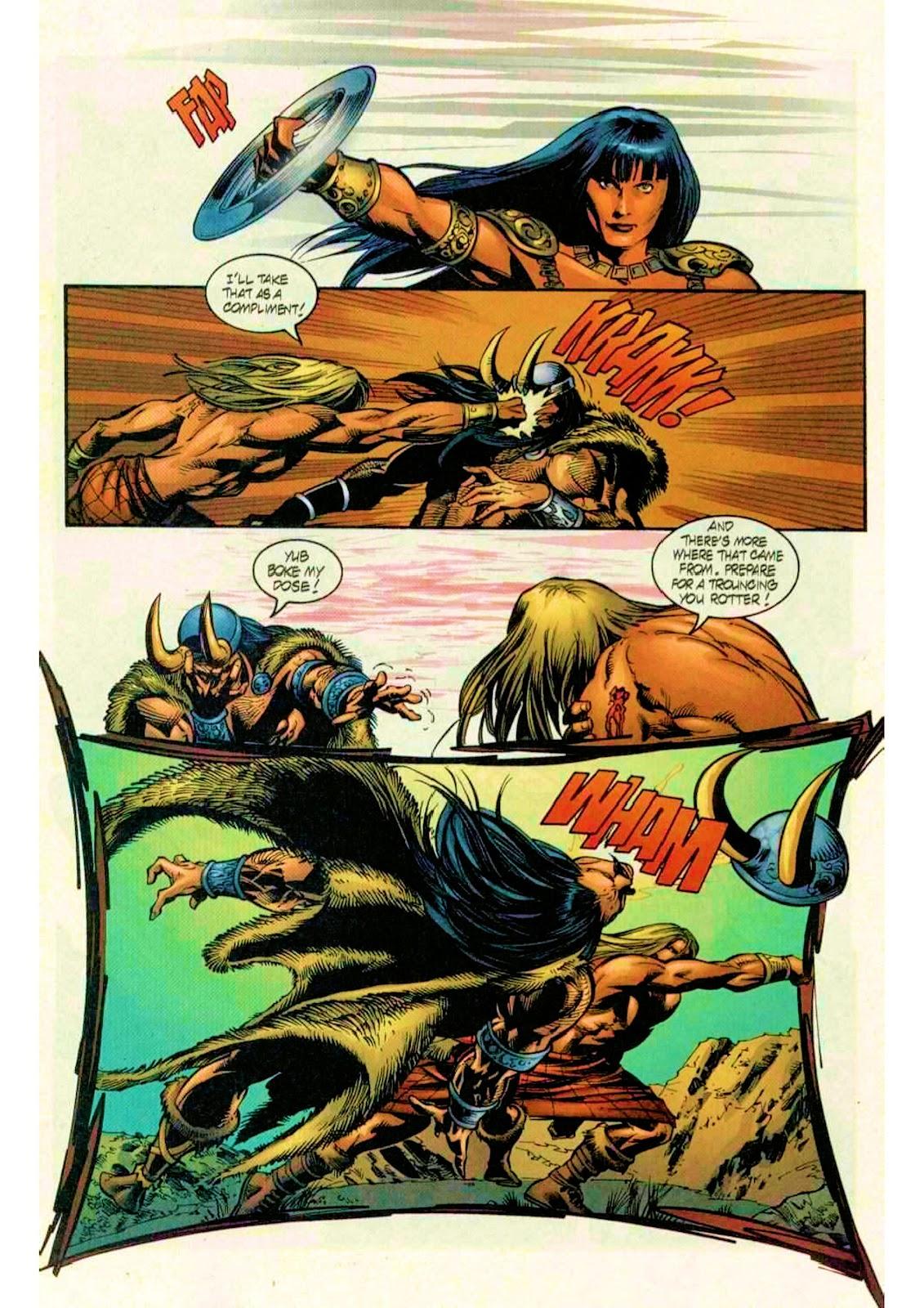 Xena: Warrior Princess (1999) Issue #10 #10 - English 22