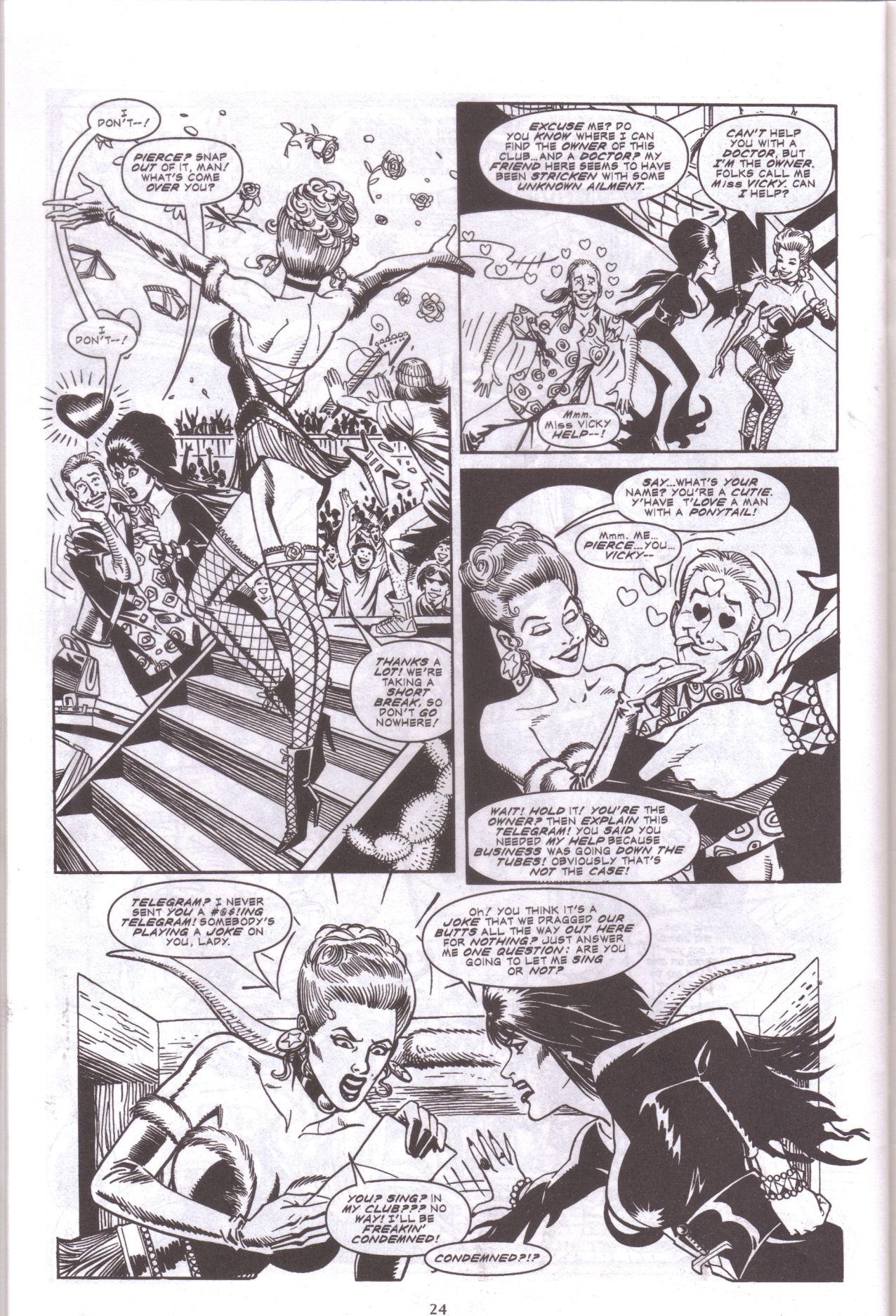 Read online Elvira, Mistress of the Dark comic -  Issue #159 - 26