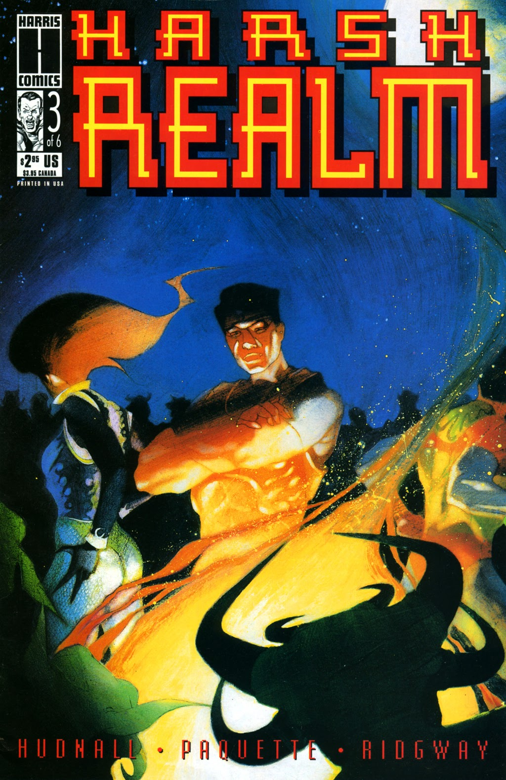 Read online Harsh Realm comic -  Issue #3 - 1