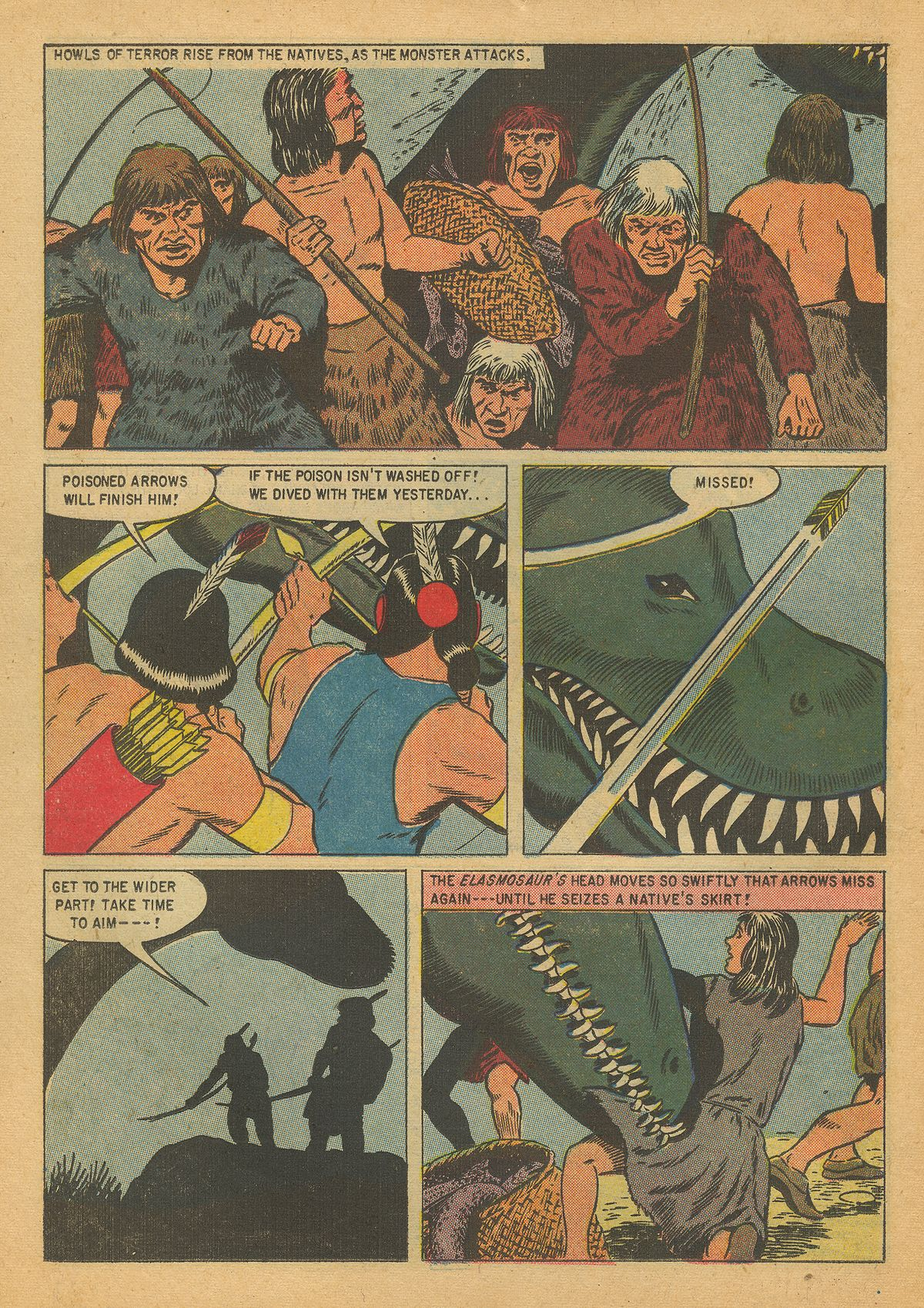 Read online Turok, Son of Stone comic -  Issue #8 - 14