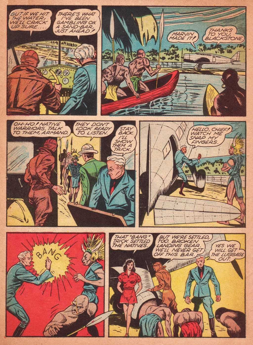 Read online Super-Magician Comics comic -  Issue #2 - 6