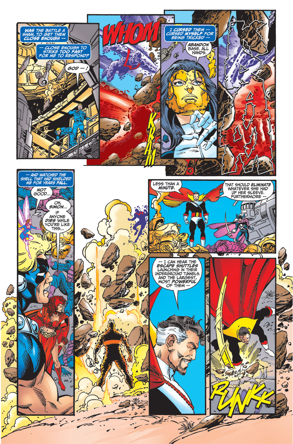 Read online Avengers (1998) comic -  Issue #33 - 11