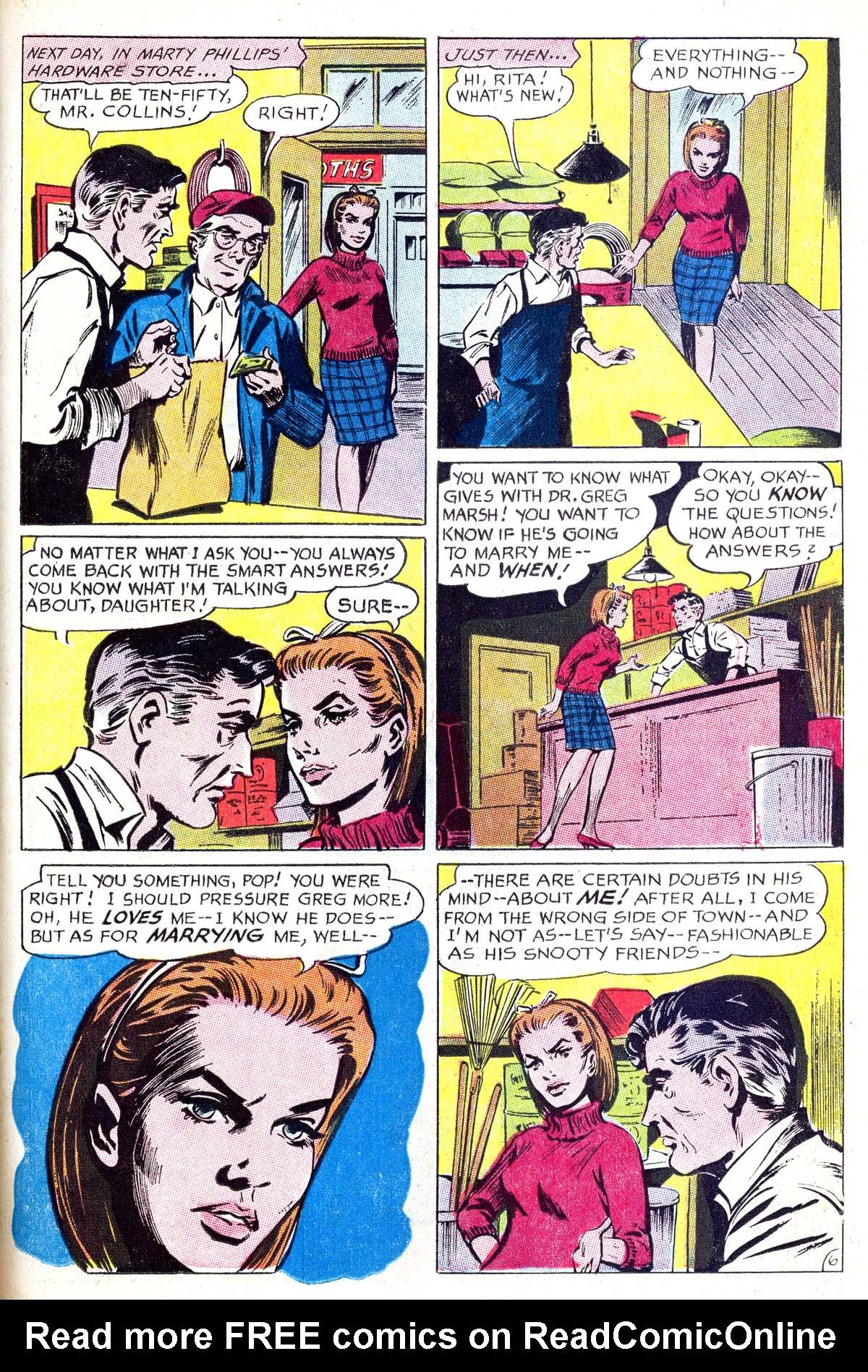 Read online Secret Hearts comic -  Issue #114 - 23