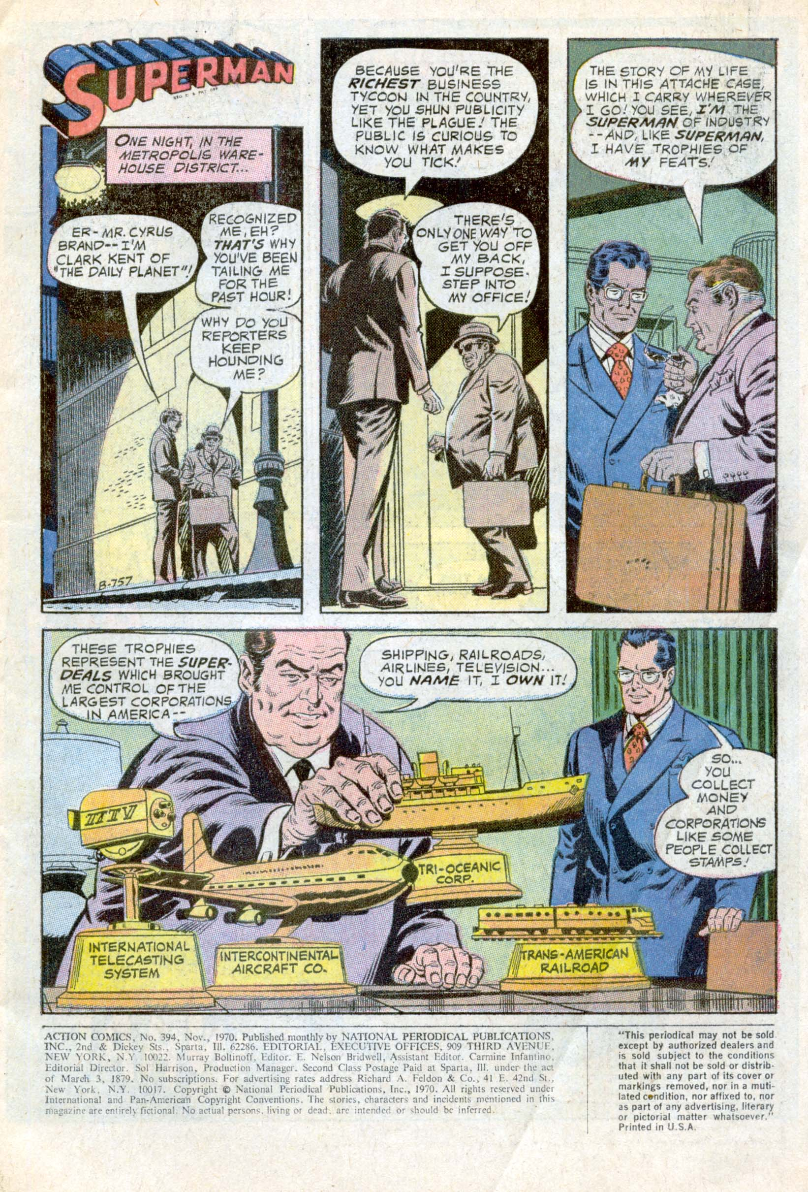 Read online Action Comics (1938) comic -  Issue #394 - 3