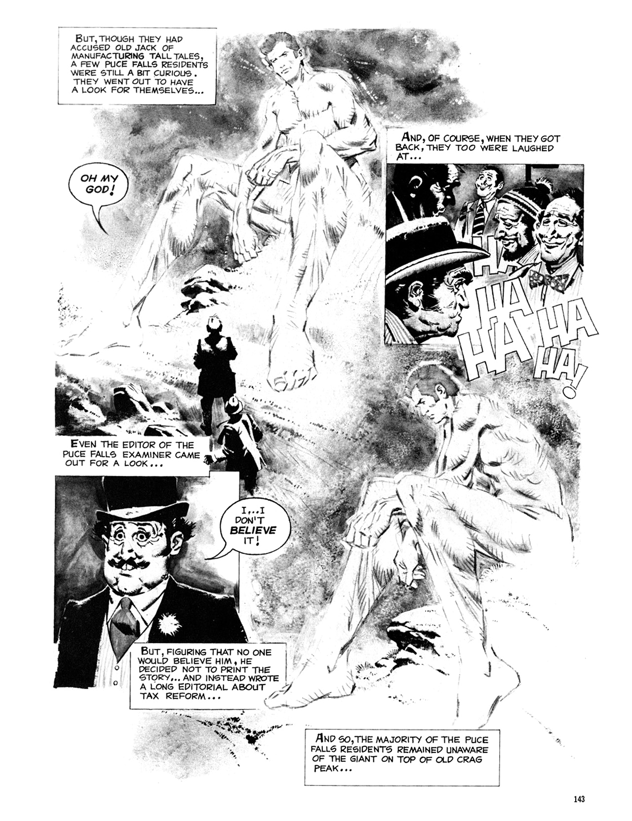 Read online Eerie Archives comic -  Issue # TPB 8 - 144