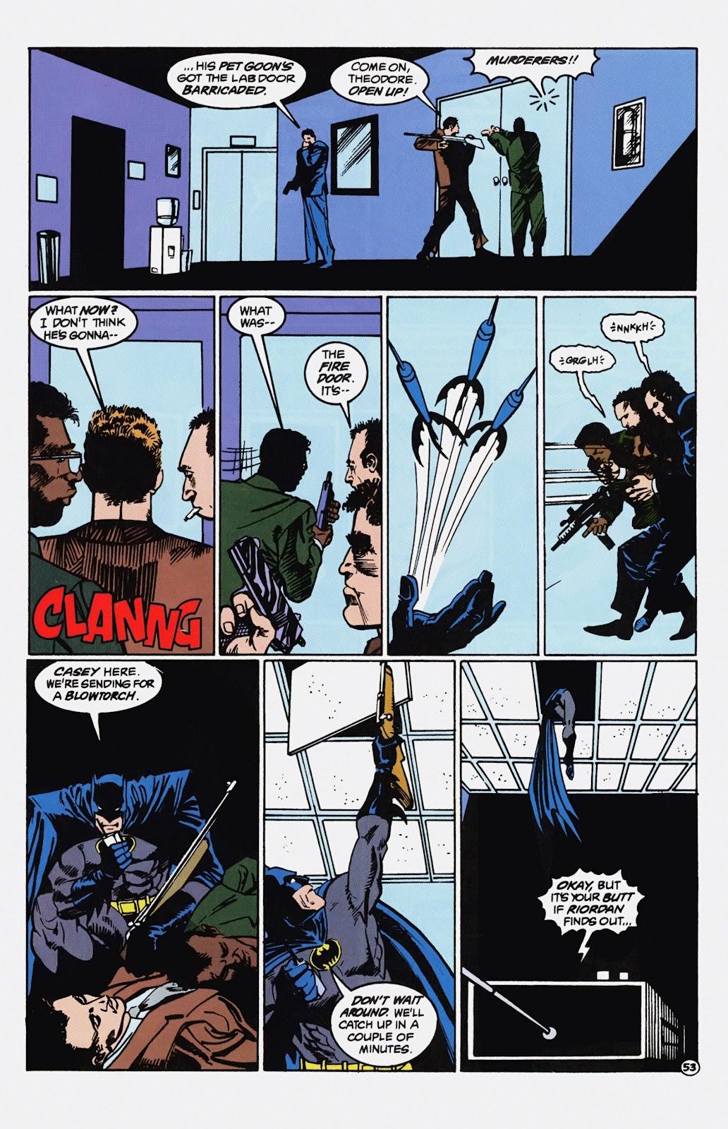 Read online Detective Comics (1937) comic -  Issue # _TPB Batman - Blind Justice (Part 1) - 58