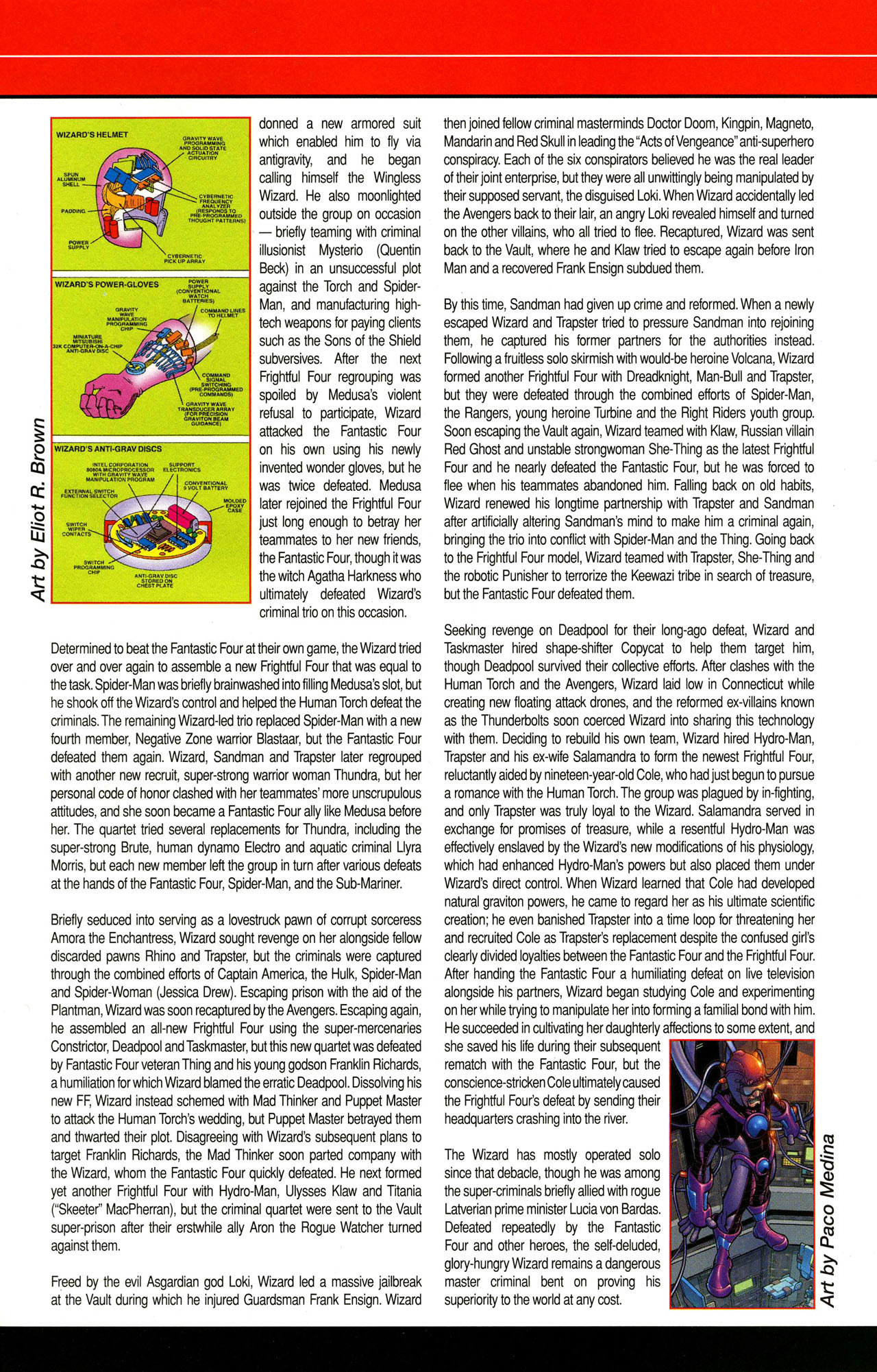 Read online All-New Official Handbook of the Marvel Universe A to Z comic -  Issue #12 - 45