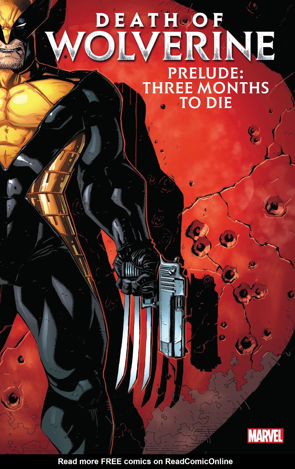 Death of Wolverine Prelude: Three Months To Die issue TPB_(Part_1) - Page 1