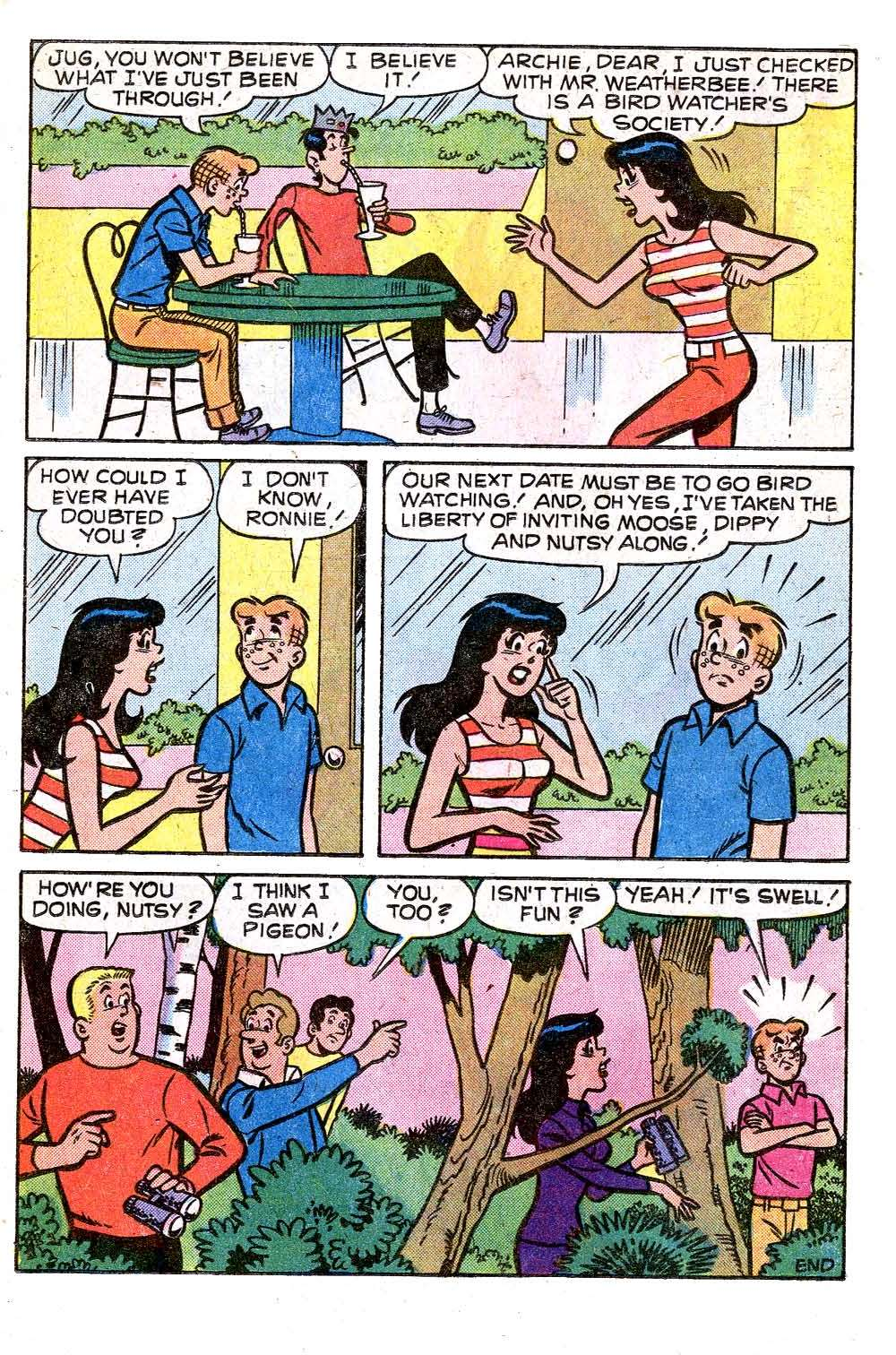 Read online Archie (1960) comic -  Issue #259 - 17