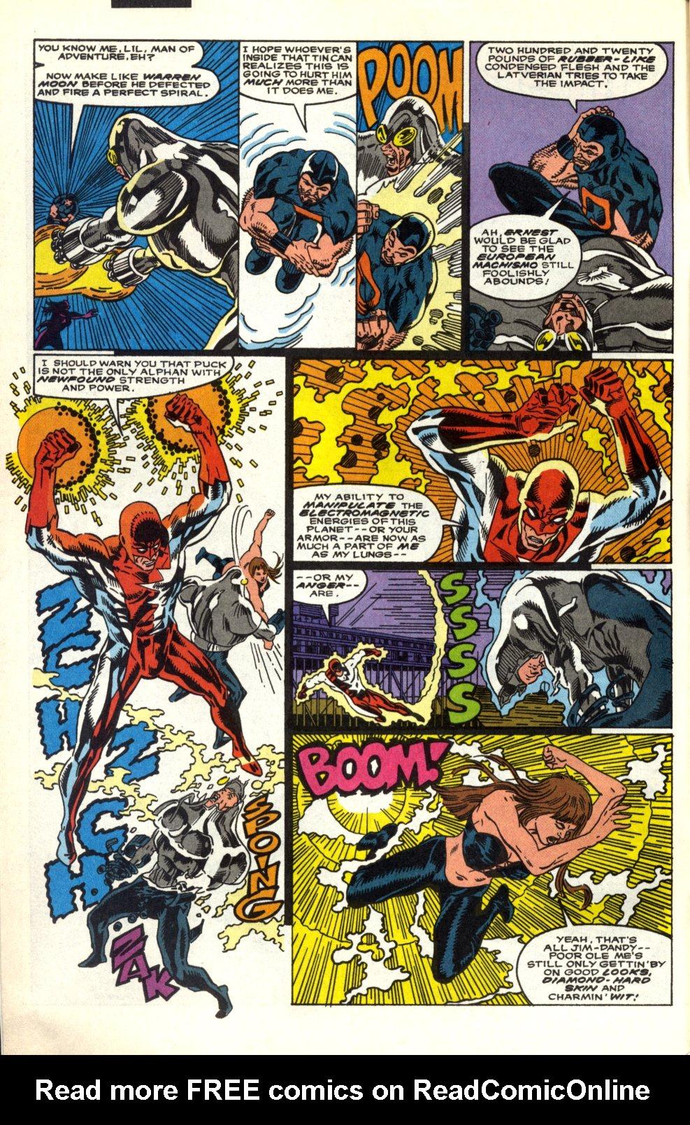 Read online Alpha Flight (1983) comic -  Issue #91 - 5