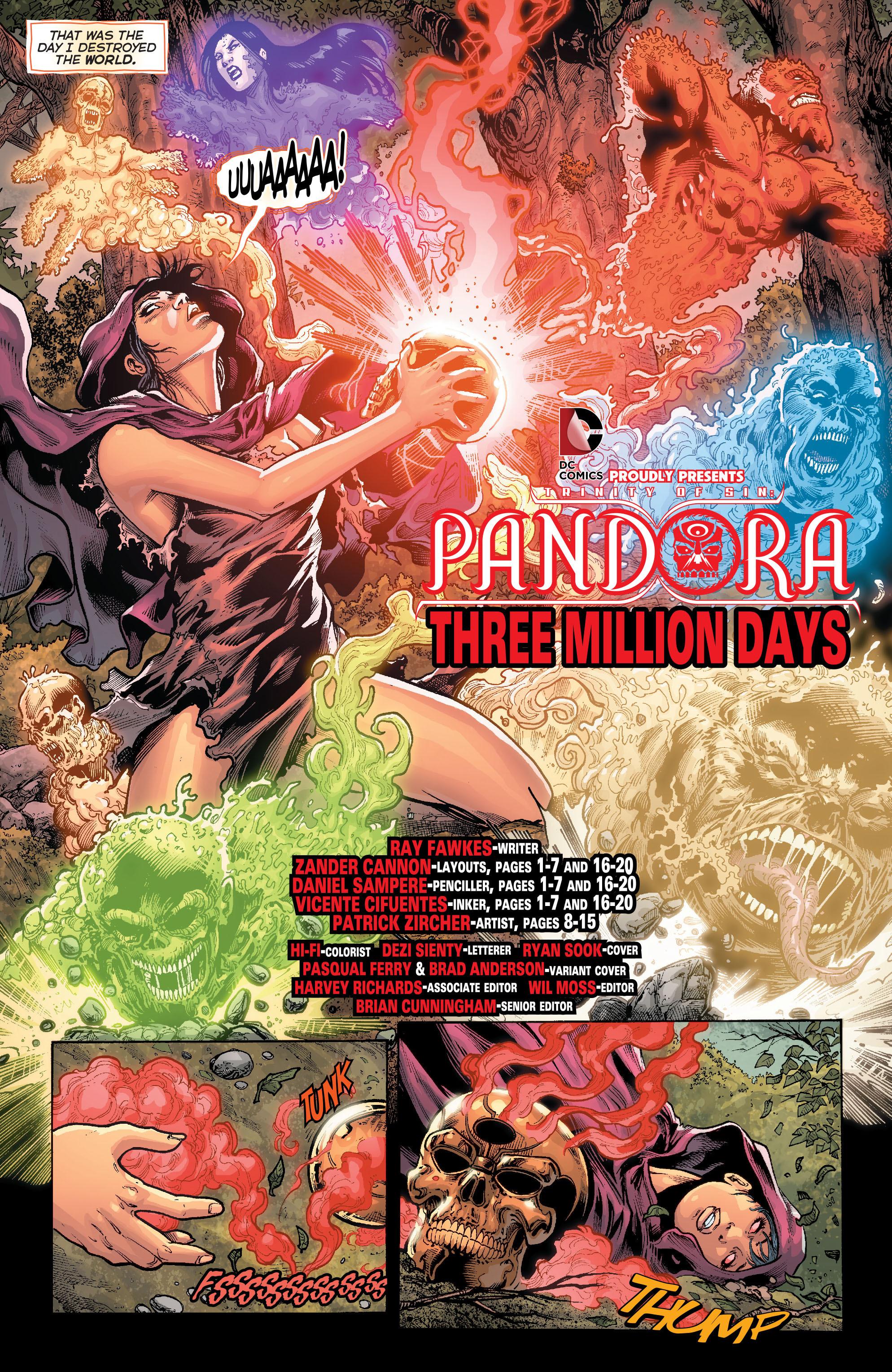Read online Trinity of Sin: Pandora comic -  Issue #1 - 4