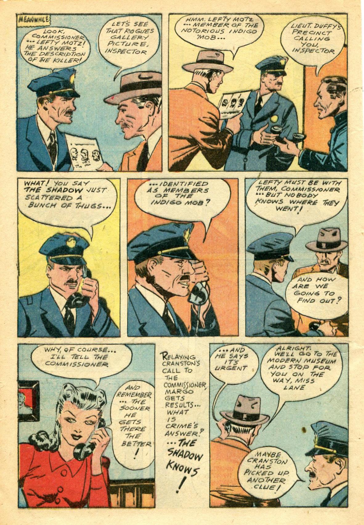 Read online Shadow Comics comic -  Issue #44 - 11