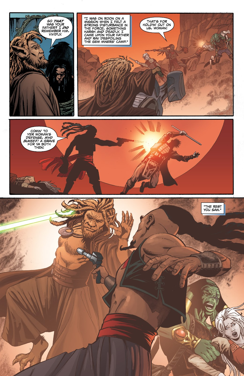 Read online Star Wars Legends: Legacy - Epic Collection comic -  Issue # TPB 2 (Part 2) - 84