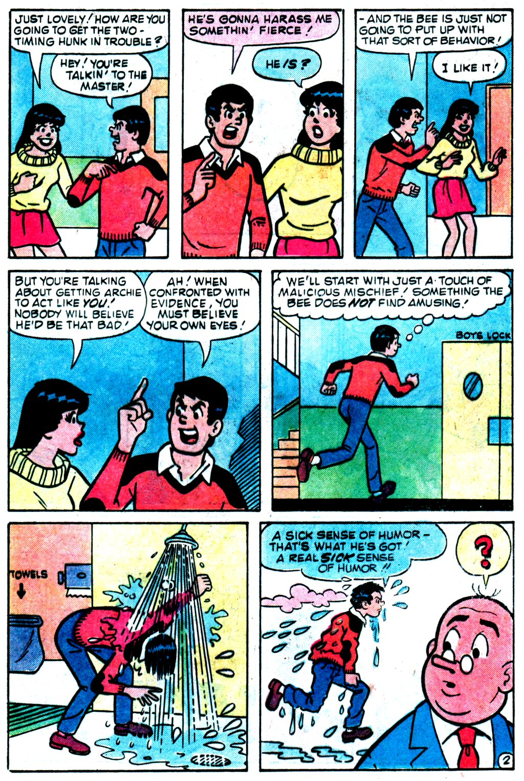 Read online Archie (1960) comic -  Issue #329 - 21