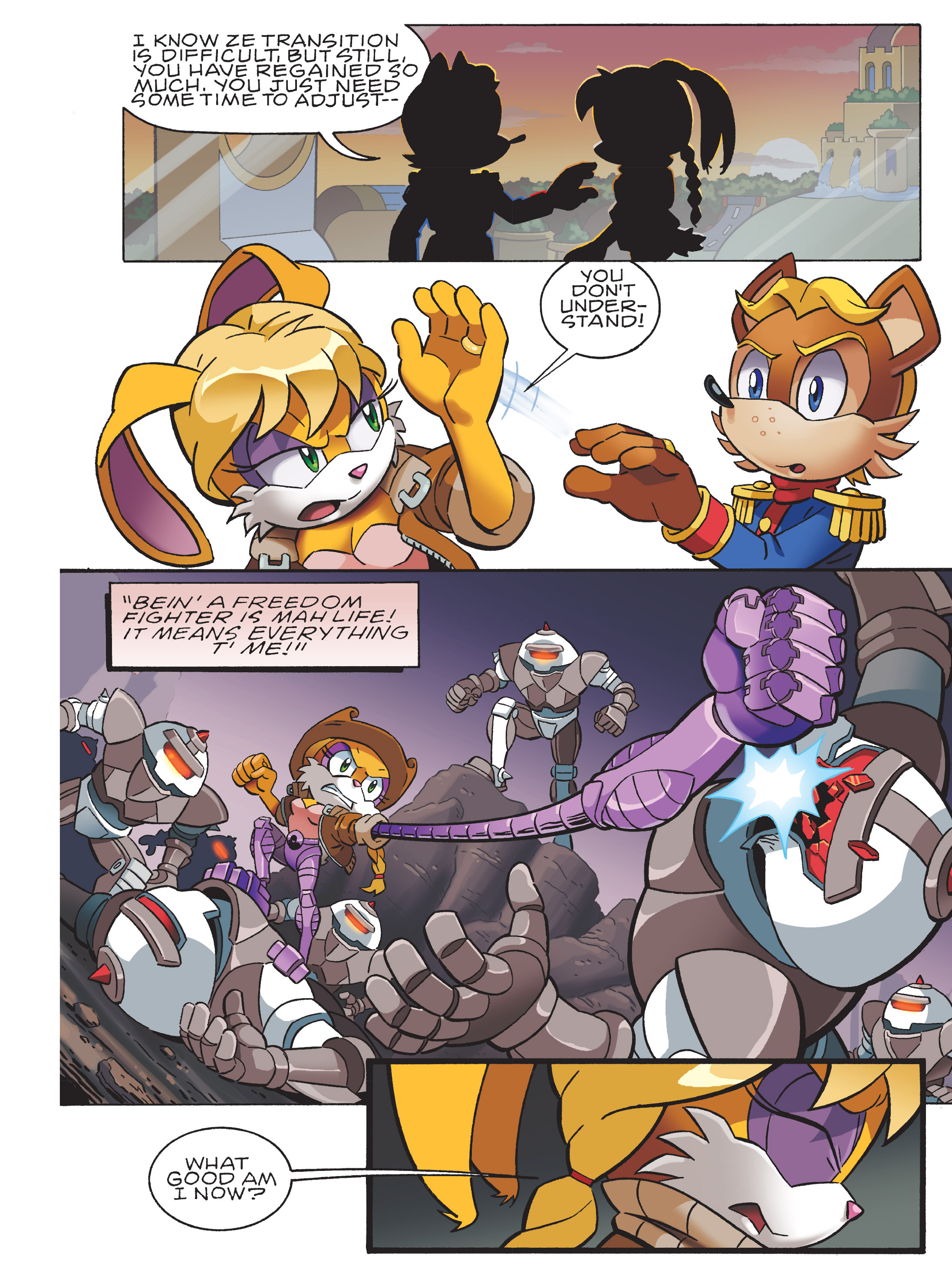 Read online Sonic Super Digest comic -  Issue #8 - 86