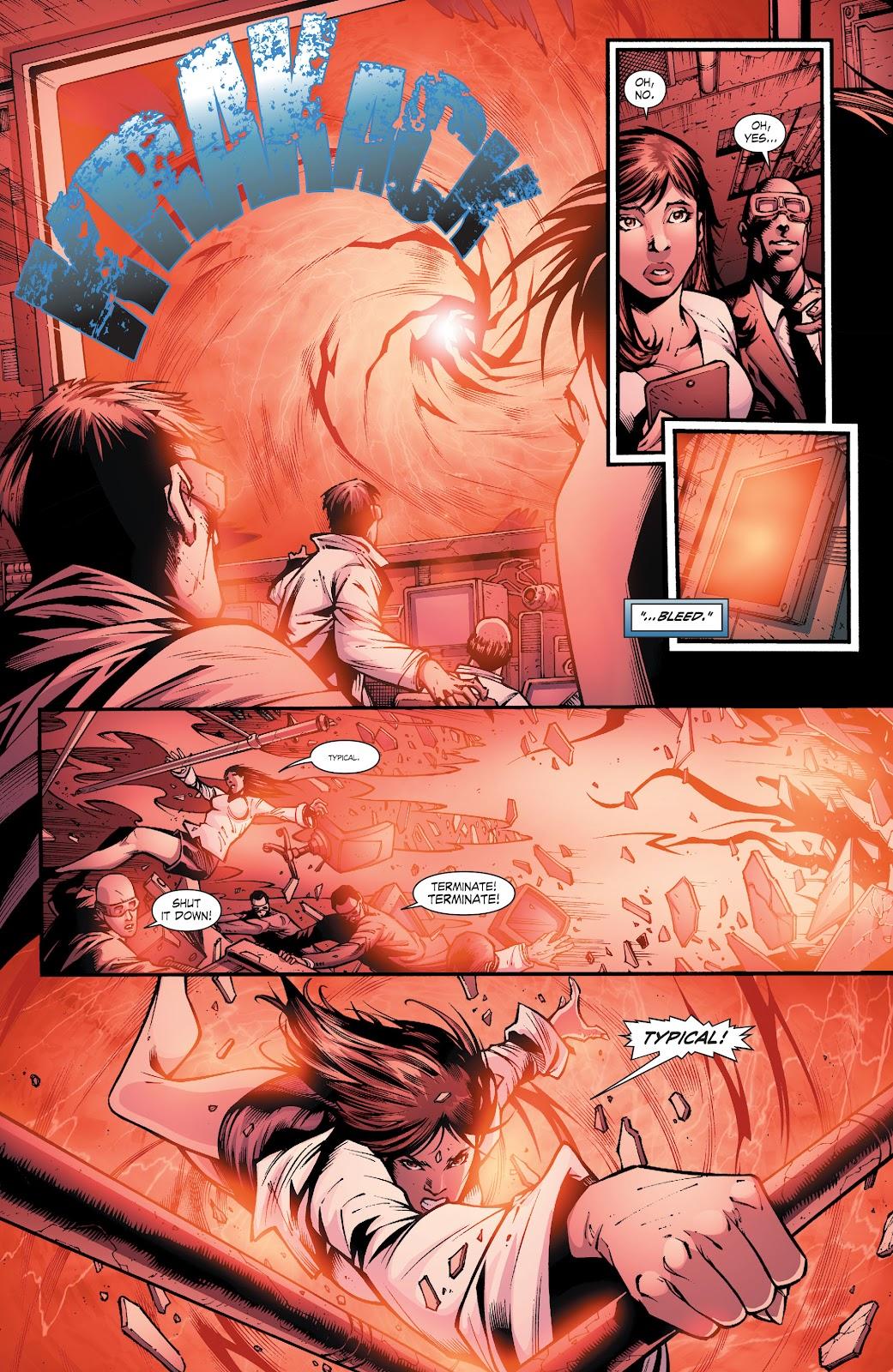 Read online Smallville Season 11 [II] comic -  Issue # TPB 8 - 56