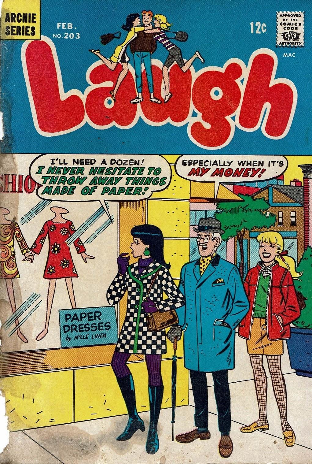 Laugh (Comics) 203 Page 1