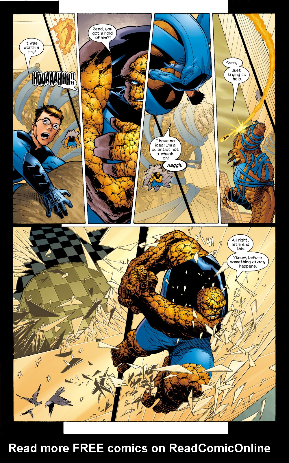 Read online Ultimate Fantastic Four (2004) comic -  Issue #5 - 8