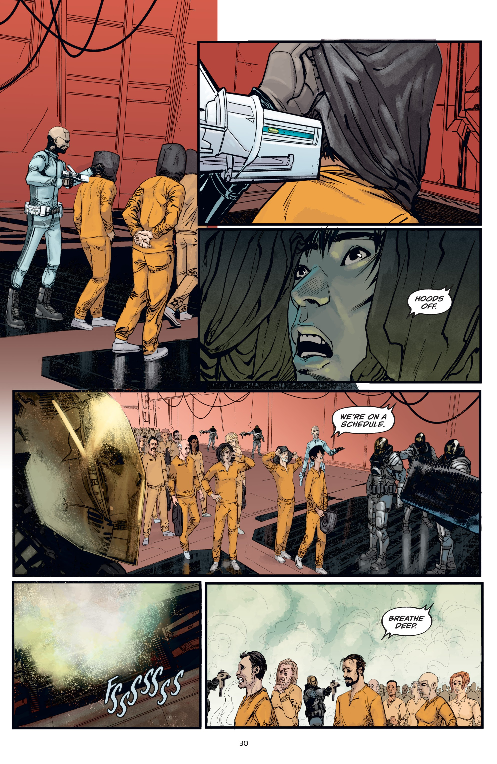 Read online Aliens: Resistance comic -  Issue # _TPB - 30