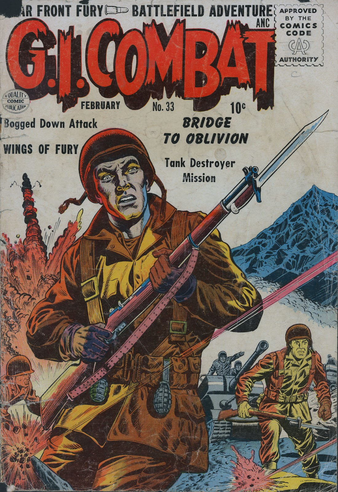 G.I. Combat (1952) issue 33 - Page 1