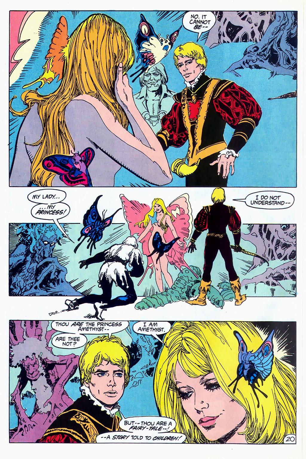 Read online Amethyst (1987) comic -  Issue #1 - 23