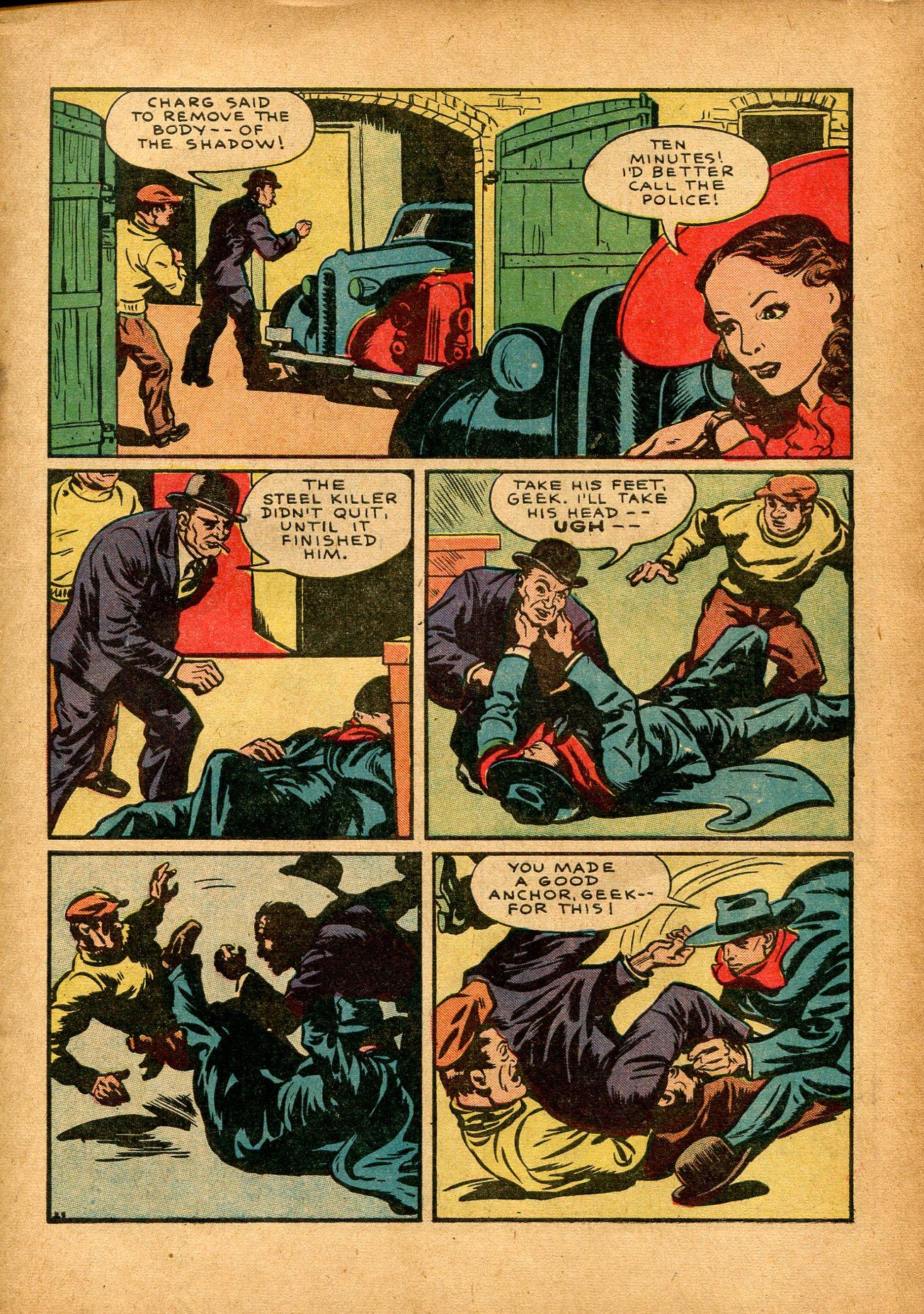 Read online Shadow Comics comic -  Issue #8 - 13