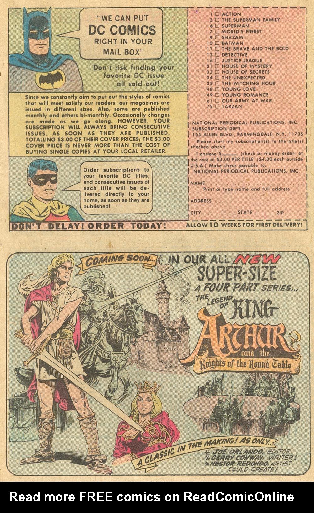 Read online Adventure Comics (1938) comic -  Issue #441 - 24